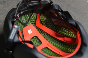 The liner is said to add, on average, 53g to a helmet