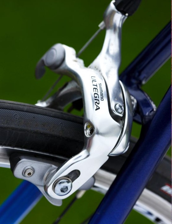 Ultegra kit is typical for the price and performs well