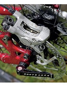 Shimano's LX disc callipers are excellent