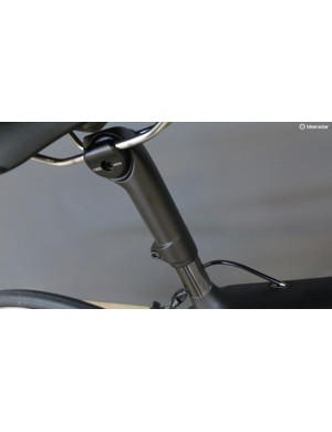 Trek's claims its unique seat allows for much more compliance than a standard setup