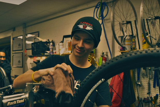 DreamBikes provides jobs and training for teenagers and bikes to the community