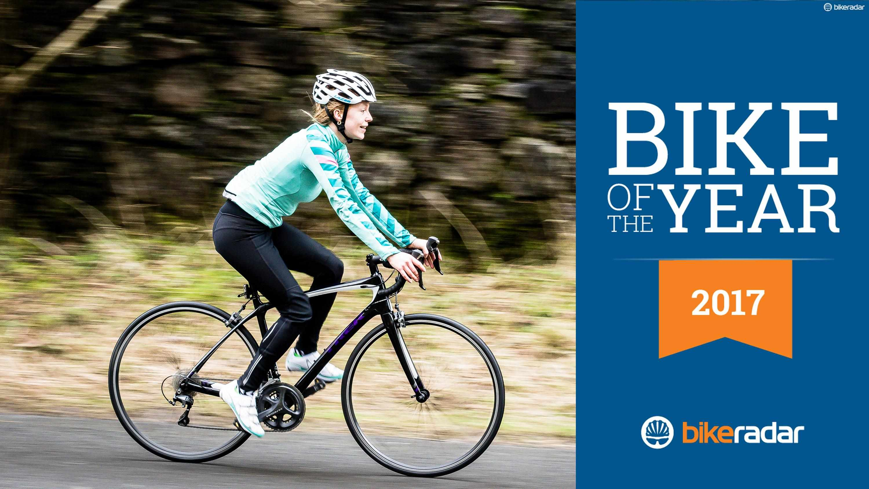 Winner of the Women's Road Bike of the Year is the Trek Silque