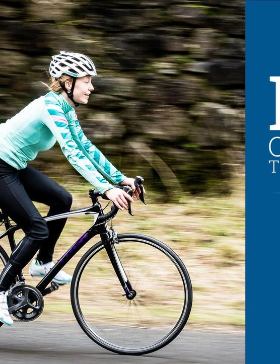 The BikeRadar Women's Road Bike of the Year Winner is....the Trek Silque!