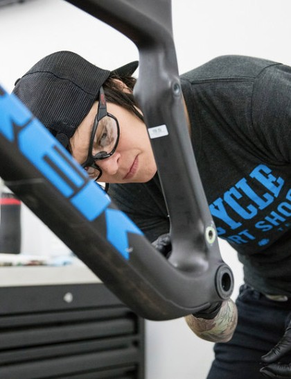 Covering high-level maintenance and repair, Trek's Expert Technican course equips participants to work on mountain bike suspension and high-end road bike assembly