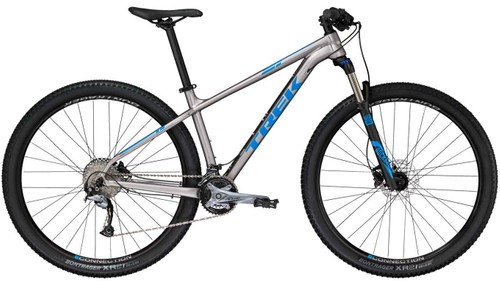 bcdd30a4f2a Trek's X-Caliber 7 is loaded with trickle-down technology from one of the