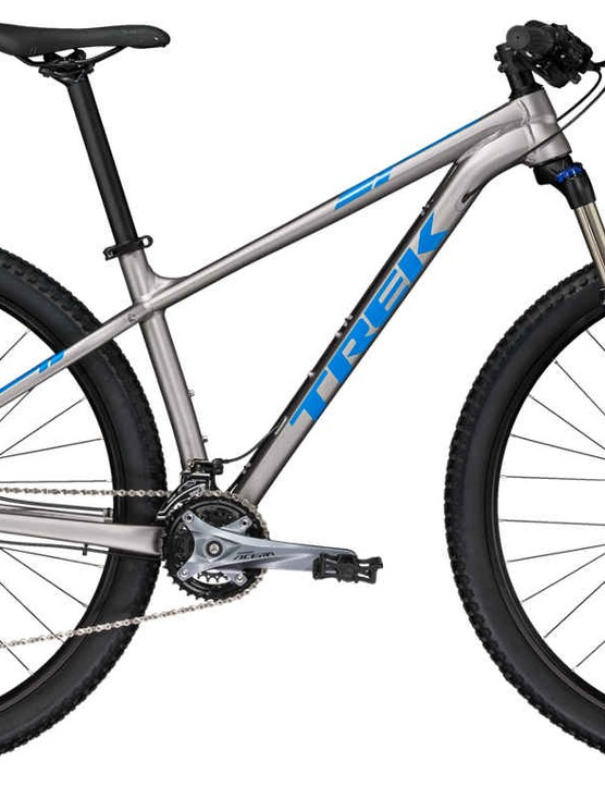 Trek's X-Caliber 7 is loaded with trickle-down technology from one of the biggest brands