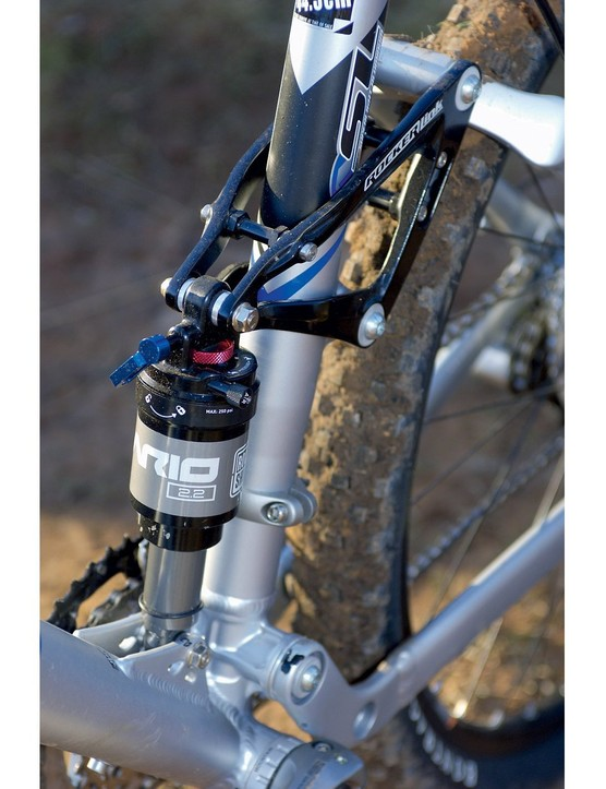 The Ario 2.2 shock performs well