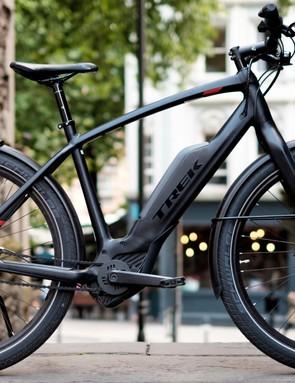 The Trek Super Commuter+ is a nippy electric commuting bike