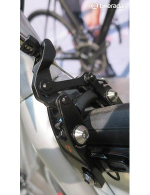Bontrager's direct mount Speed Stop brakes require a bit of care setting up, but when right the performance is impressive