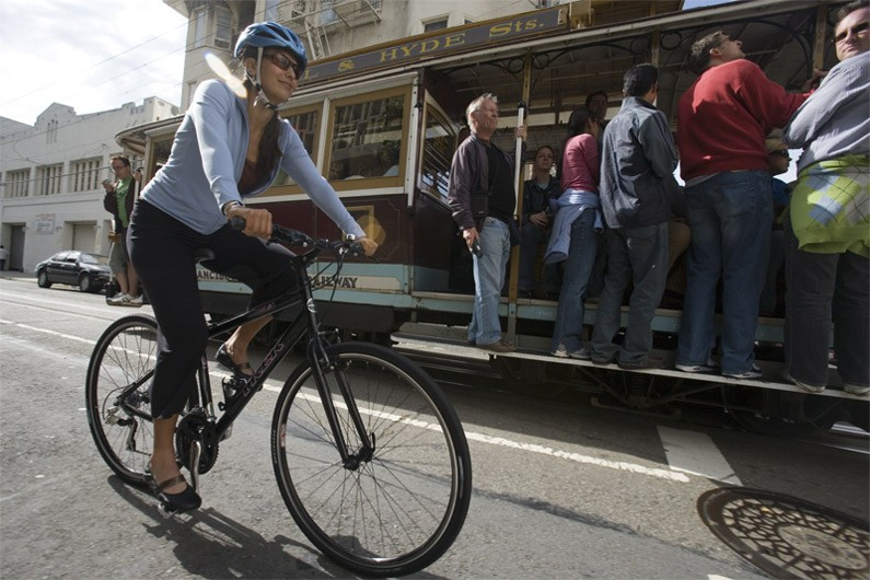 An active, two-wheeled lifestyle can benefit women's health.