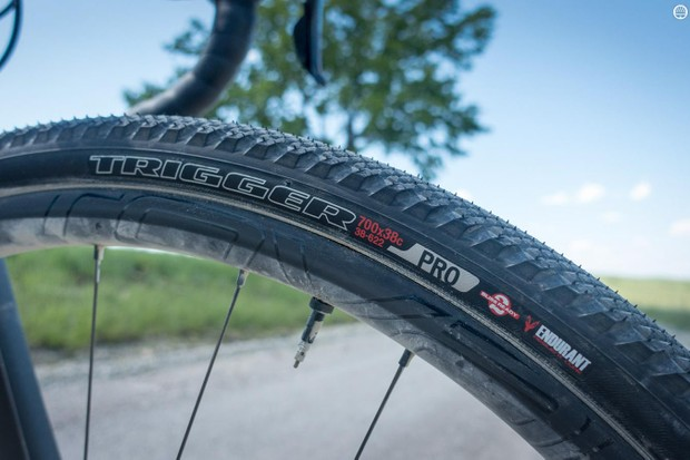 The 700x38 Specialized Trigger Pro is a proven gravel race tire