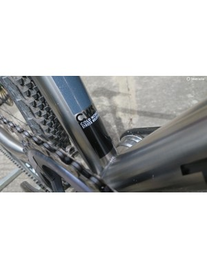 Cold-worked and stress-relieved titanium tubing is used throughout the ATR frame