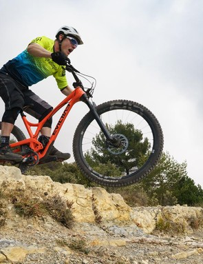 Bigger wheels meet gnarly trails with little sweat