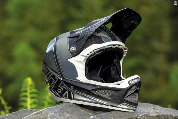 Troy Lee Designs' D3 Carbon MIPS full-face helmet