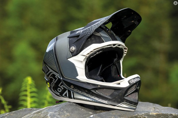 Troy Lee Designs' D3 Carbon MIPS full-face helmet