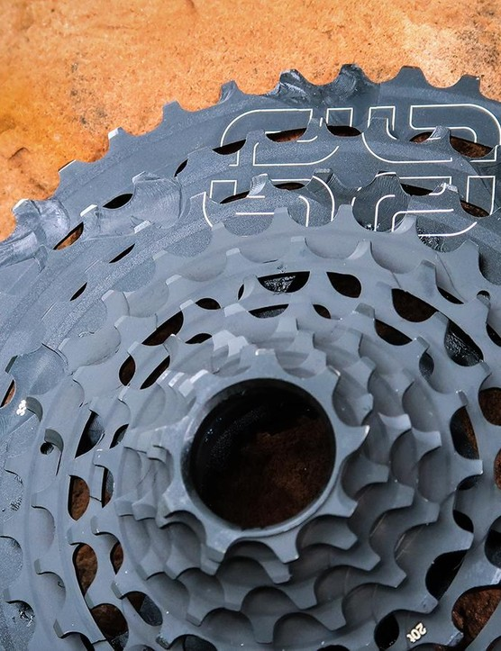 The e*thirteen TRS Plus cassette brings the range of the TRS Race cassette to a more affordable level