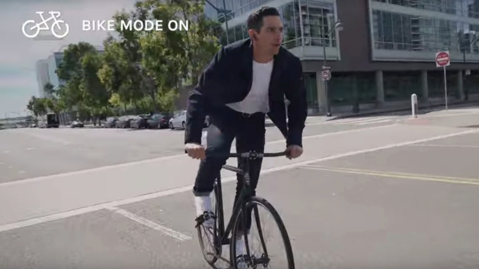 This could be the future of urban bike clothing, or at least a beta version