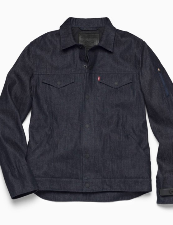 The Levi's Commuter Trucker Jacket, with Google's smart technology woven in