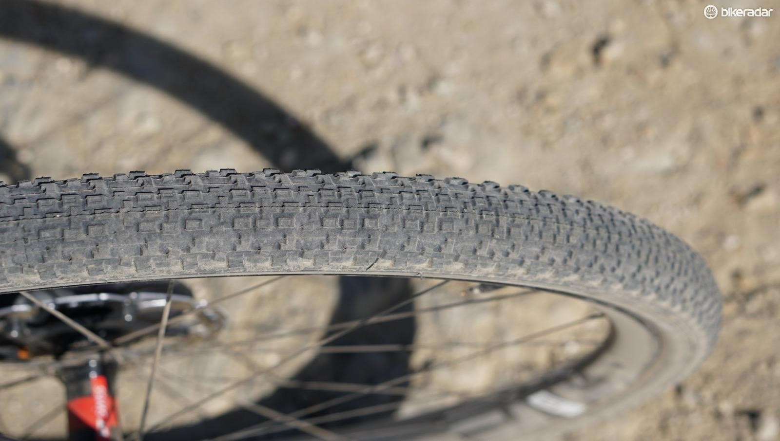 Like any tire, opinions on the 40mm Rambler vary based on who you ask. Ben, riding in the desert, likes it. Tom, riding in wetter conditions, wasn't completely sold on it