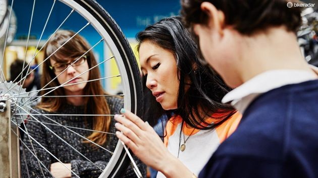 Any issues are handled by the bike shop before the bike is sold to you