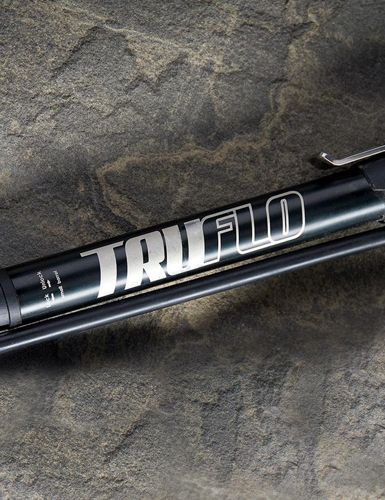 Only some minor design issues hold Truflo's Minitrack Pump from being a very impressive device