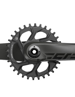 SRAM claims the Descendant Carbon crankset is the most affordable carbon setup in the industry
