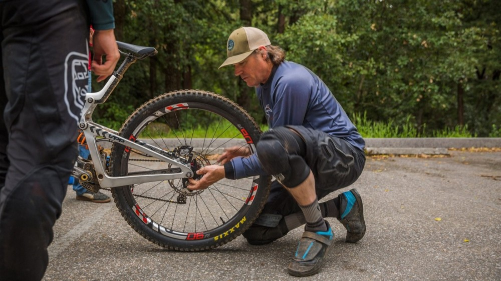 Big wheels could soon be the norm in downhill racing