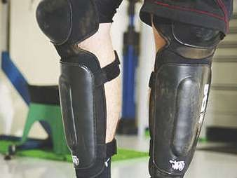 These pads will keep your knees cool.