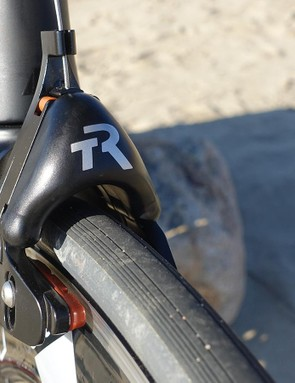 TriRig also lent a pair of Omega X brakes to further streamline the Canyon