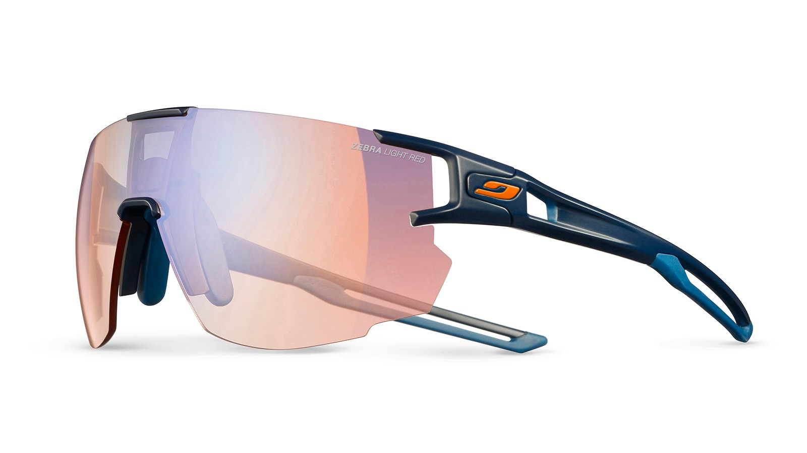 Julbo's Aerospeed sunglasses, with its Reactiv Photochromic lens, are perfect for changing light conditions