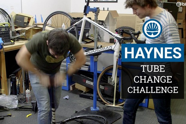 Our fastest staffer takes on our tube change challenge