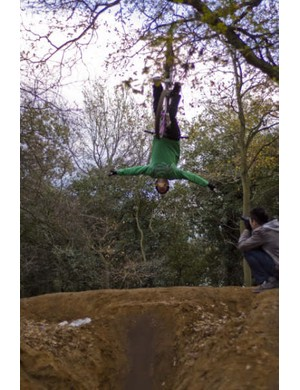 Tuck-no-hander-flip formed part of a perfect day's sessioning for Leopardhead!