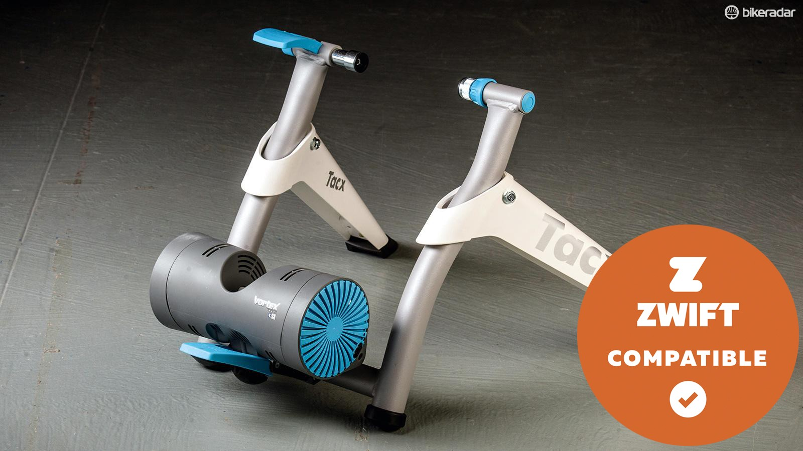 The Tacx Vortex Smart features easy connectivity and user-friendly apps