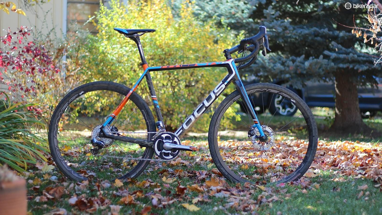 My race rig for the Crusher is a slightly modified version of my cyclocross race bike