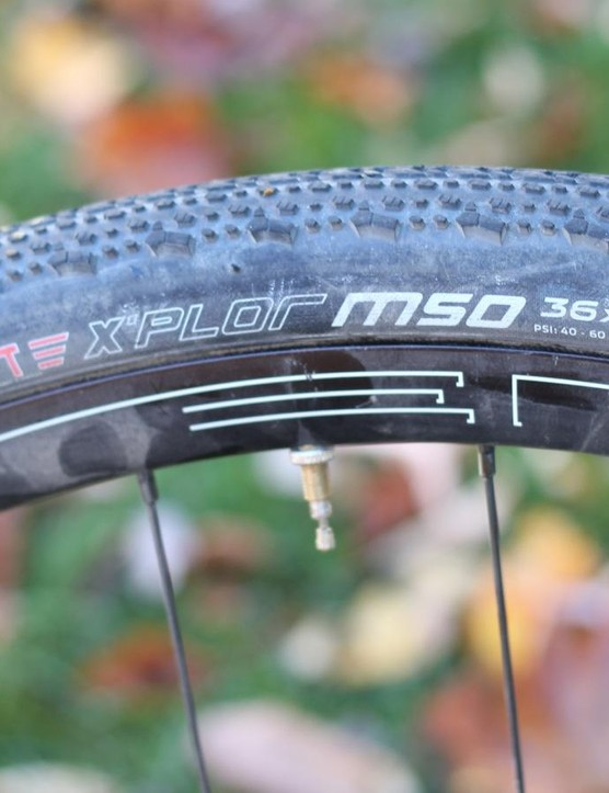 I trail tested the tubeless set-up for a few weeks before the Crusher