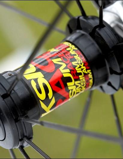 Light and fast Mavic Aksium Race wheels