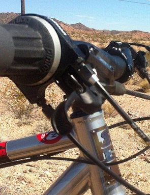 Two cables make the magic of internal gear shifting a reality
