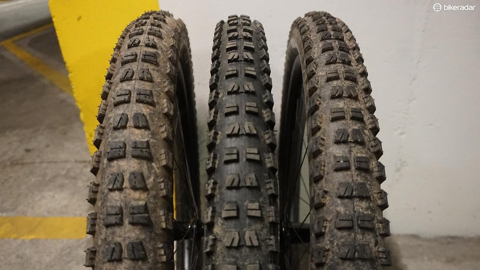 """The 2.6"""" and 2.8"""" tyres come up narrower than advertised on these 33mm rims"""