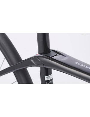 IsoSpeed is one of the most impressive features on the Domane: it decouples the seat tube from the top tube, allowing the seat tube to flex with the forces of the road