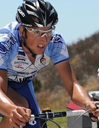 Kirk Carlsen won a hard-earned U23 national road title in California.