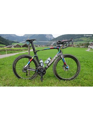 My test bike was this rather nice Specialized Venge ViAS Sagan Edition