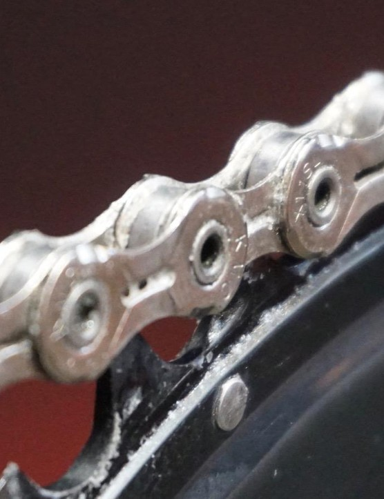 UFO Drip Chain Treatment goes on as a liquid, then turns to a dry coating