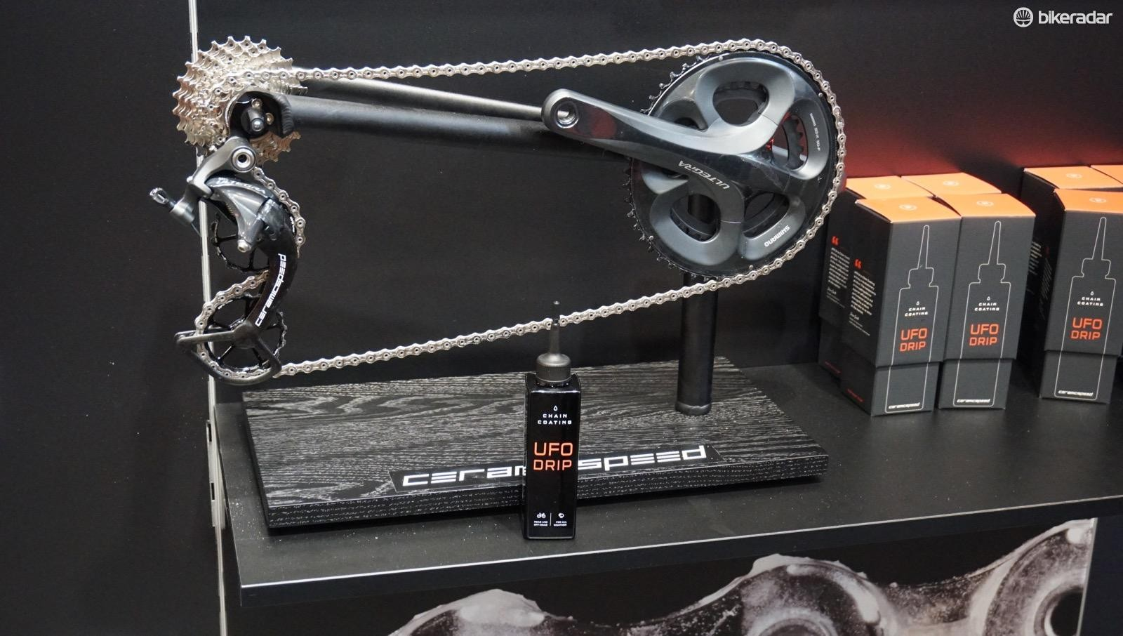 CeramicSpeed's business model is seeking out smoother-running solutions, like ceramic bearing and oversize pulleys