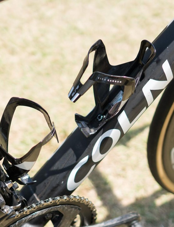 Elite supplies its Vico Carbon bottle cages