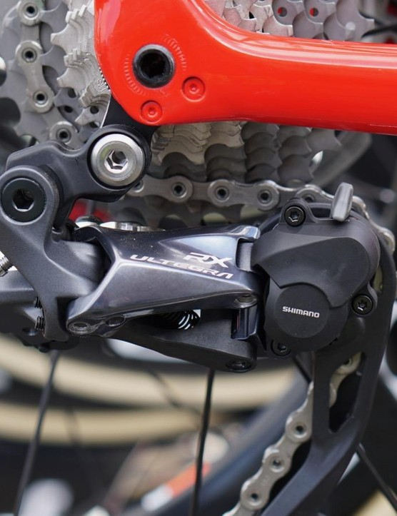 Trek-Segafredo has been testing the clutch derailleur ahead of the Tour of Flanders and Paris-Roubaix