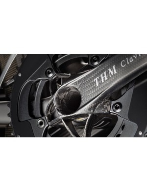 These THM Clavicula cranks are among the absolute lightest on the market