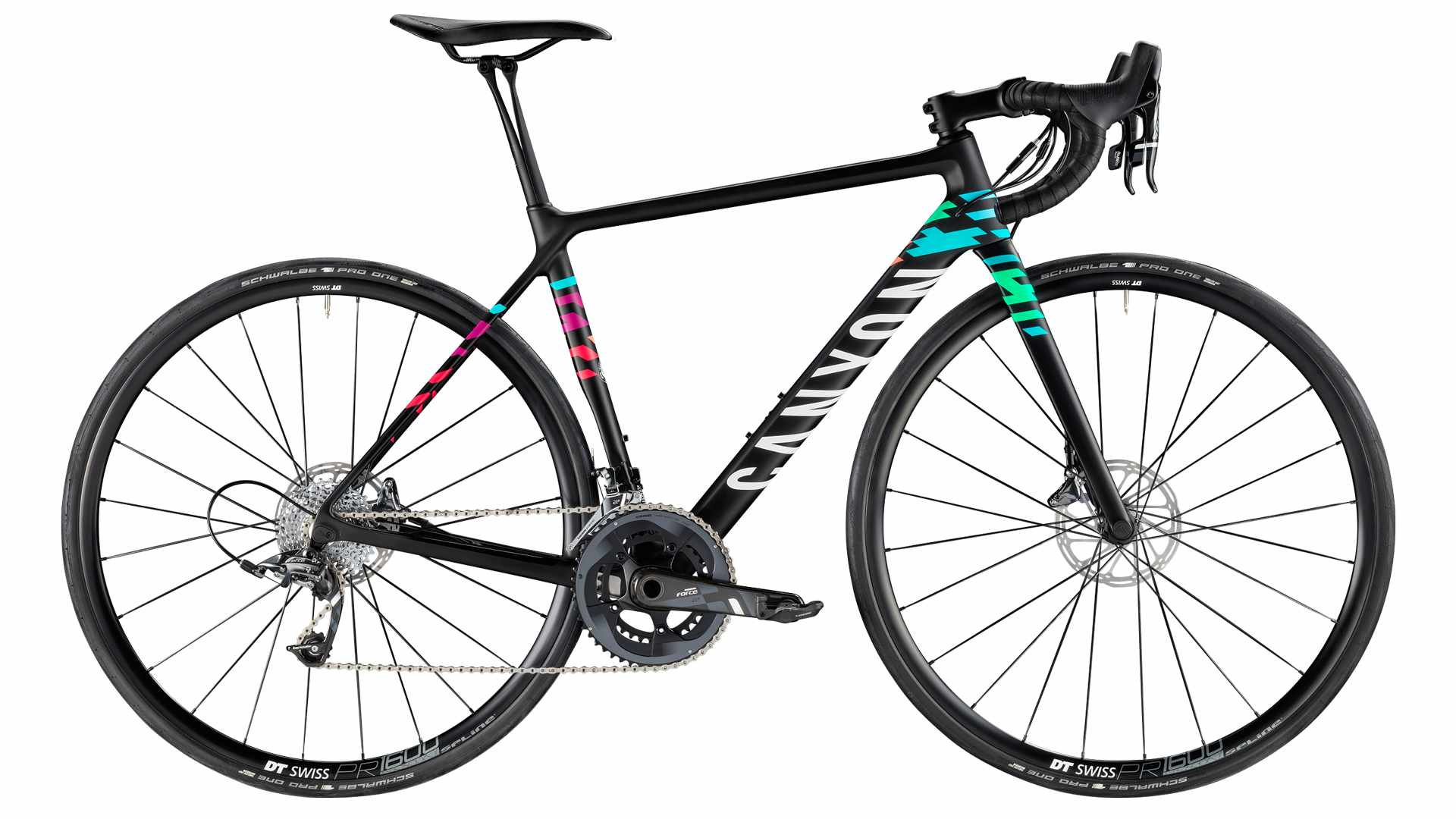 The 2018 Canyon Ultimate WMN resplendent in its new Canyon//SRAM pro team colours