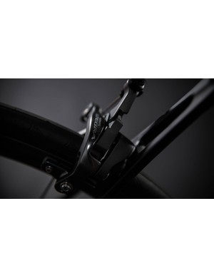 Rim brakes are your only option on this frame
