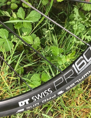 DT Swiss PR 1600s are a good set of wheels