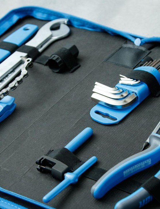Unior's new 1600A7 20-piece bike tool set